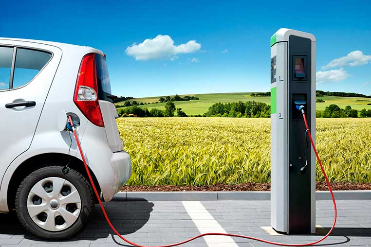 cargador puntos recarga coches electricos